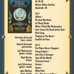 2019-10-18-setlist
