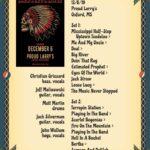 2019-12-06-setlist